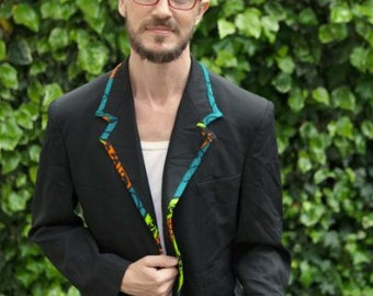 African Print Lining Dinner Jackets