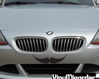 Mustache Vinyl Wall Decal Or Car Sticker - Mvd017ET