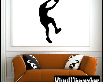 Lay Up Basketball Vinyl Wall Decal or Car Sticker - basketballst012ET