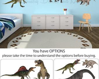 Dinosaur Wall Decals, Dinosaur Stickers, Dinosaur Decals ( Real Dinos Set 2 shown) FRD2