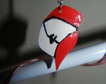 Ash Ketchum's Hat/Cap Necklace Pendant - Pokemon Handmade
