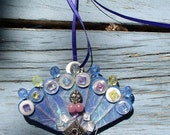 Hit the Fan ~ Hand made necklace with fun in mind