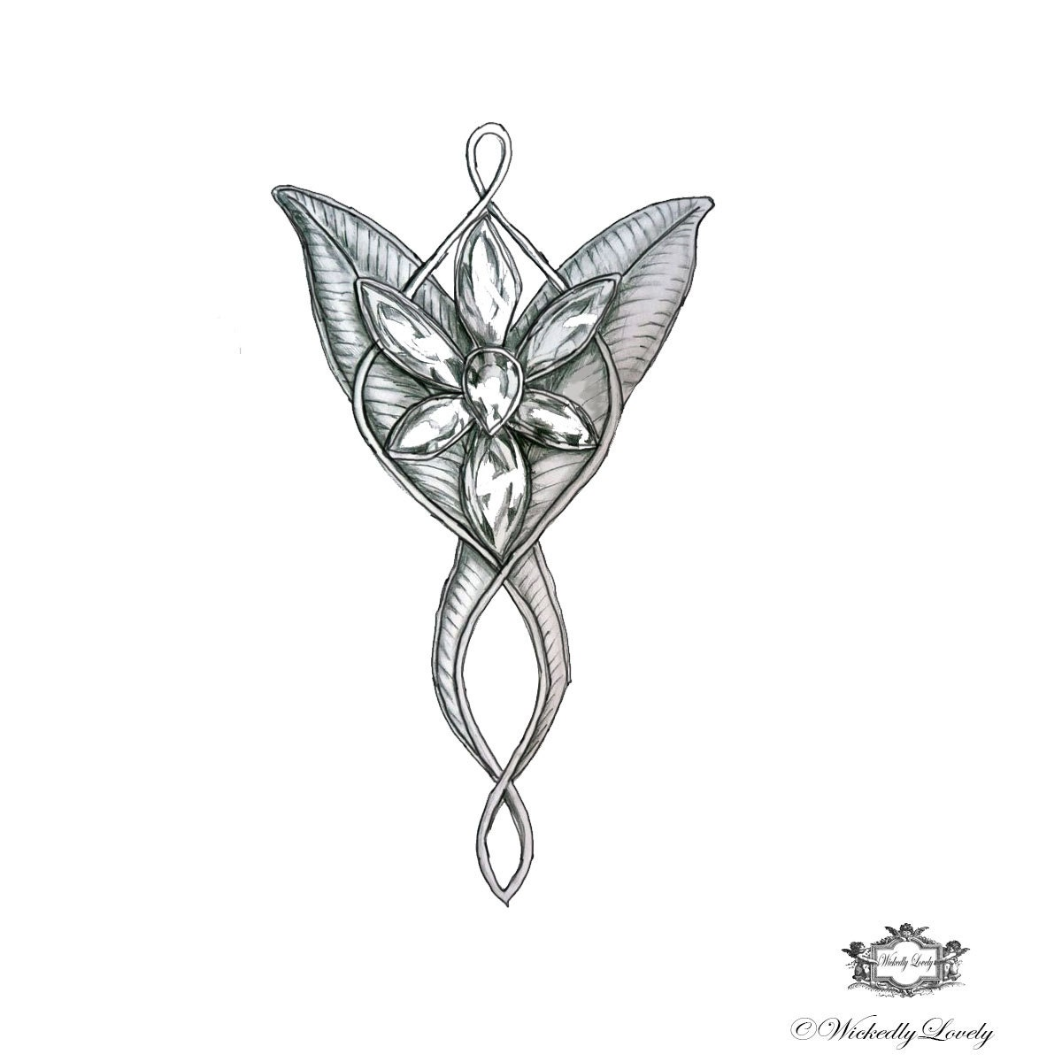 Arwen Evenstar Tattoo Evenstar Arwen's Necklace