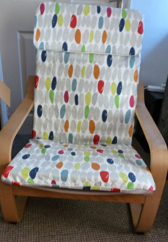 Godmorgon Ikea Installation ~ Bespoke custom made cover to fit the ikea Childs Poang chair Laura