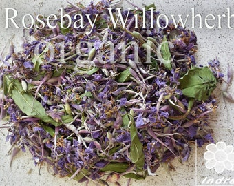 Rosebay Willowherb. Dried organic herbal tea 40g.