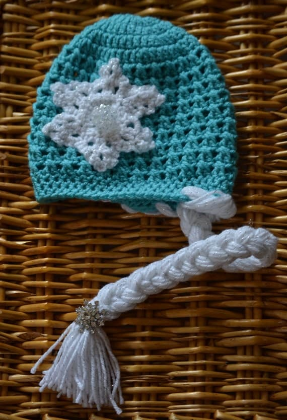 Free Crochet Pattern Frozen Elsa Hat : Items similar to Crochet