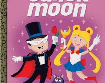"Sailor Moon ""Little Golden Manga"" Print 10x12"