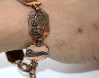 Native American, Copper Bracelet