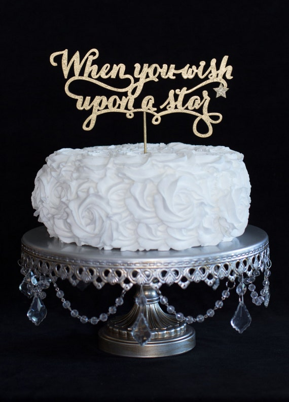 Wedding Cake Topper When You Wish Upon A Star Fairy By CakeSparkle