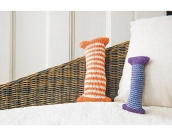 Knitted Letter I Knitting Pattern (803492)