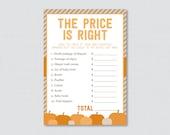 Pumpkin Baby Shower Price...