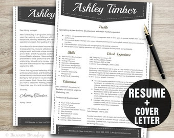 creative resume template resume cover letter template cv template instant download resume download