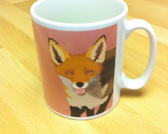 Mr. Fox Ceramic Mug