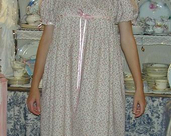 "Jane Austen ""Emma"" Regency Day Dress - Custom Made to Order."