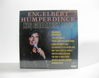 Vintage 1974 Engelbert Humperdinck ~ His Greatest Hits - Sealed LP ~ 33 Rpm ~ London PAS71067