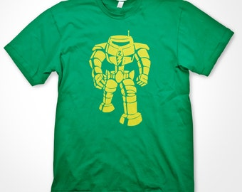 Inspired by The Big Bang Theory - Sheldon's 'Manbot' T-shirt