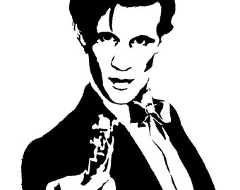 The 11th Doctor  Vinyl Sticker