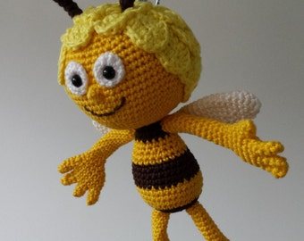 Amigurumi Basic Doll Pattern : Large amigurumi bee pattern - crochet bumble bee, crochet ...