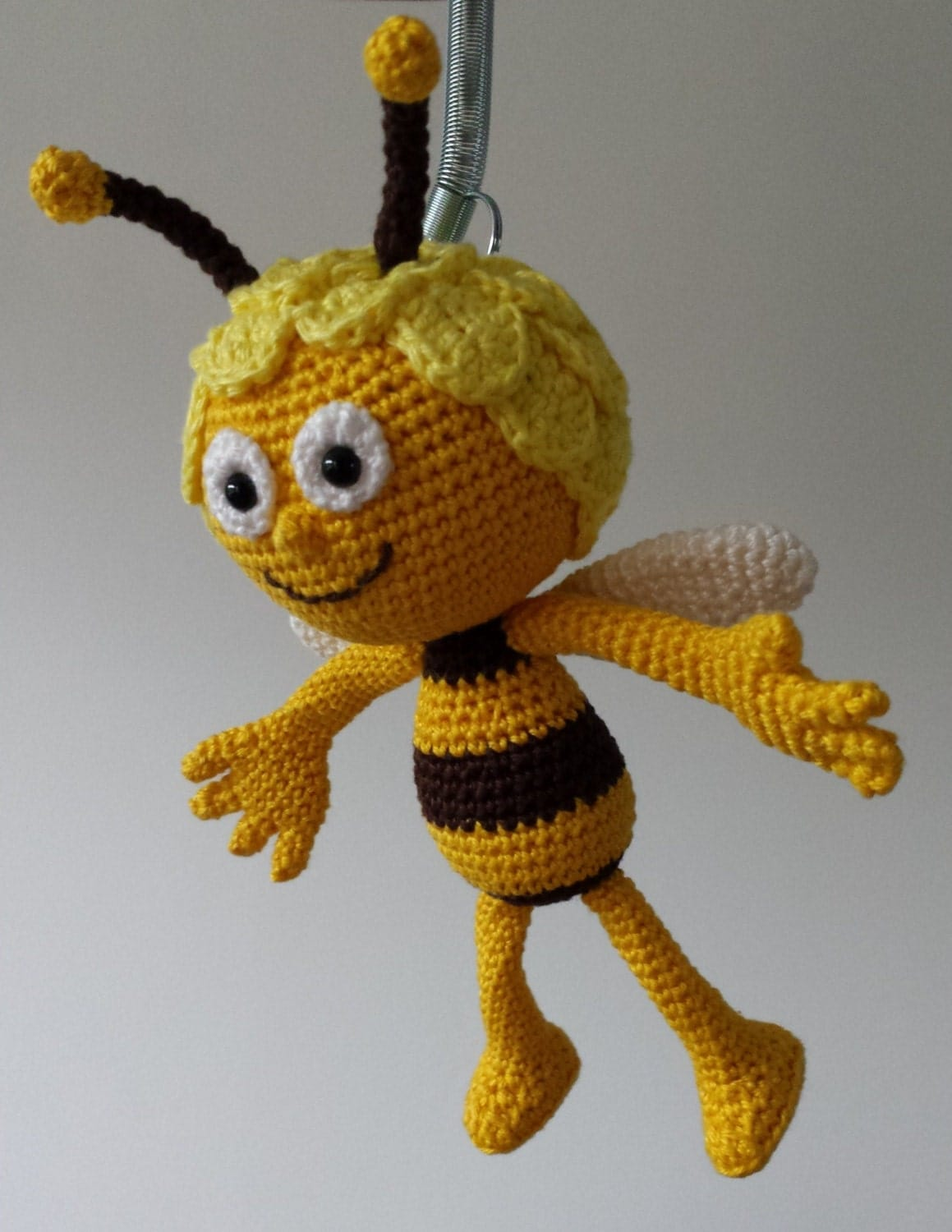 Amigurumi Basic Doll Pattern : Maya and Willy the Bee crochet pattern Dutch-English from ...