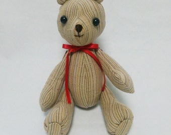 The Bear that made Japanese traditional textiles,Aizumomen