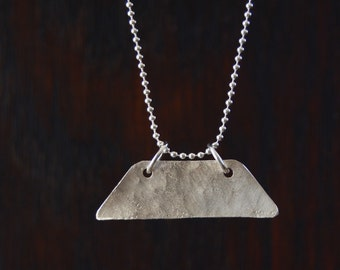 SSF989 Feeling Trapezoid-y Necklace