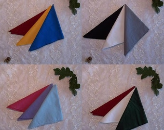 Altar Cloth Set/Tarot Cloths- Three Cotton Cloths for Magic Altars