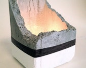 Concrete Candle Holder.  Free Shipping in US!