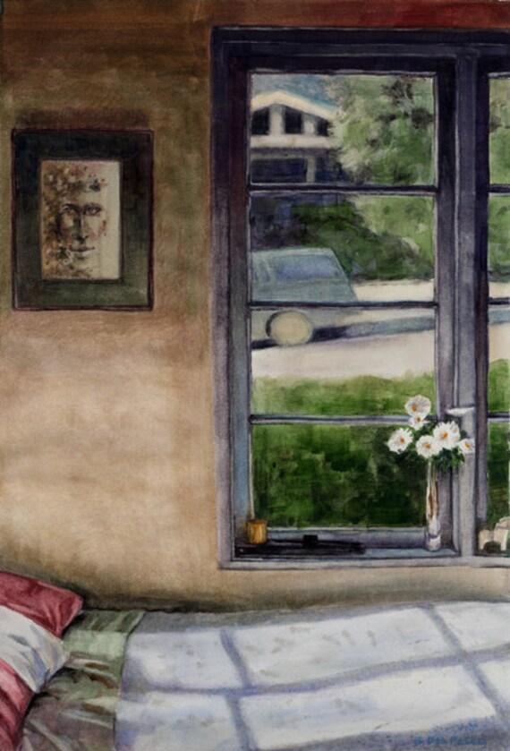 Fenetre Interieure Chambre : Fenêtre chambre intérieure lit et oreillers par bdelpesco