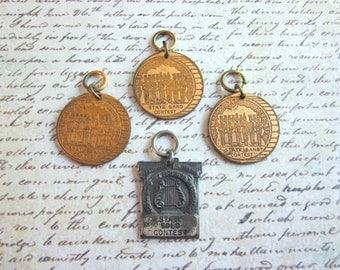 SALE Set of Four Vintage Indiana Band and Orchestra Medals
