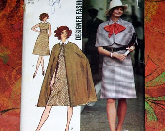 Pattern 9550, Cape, Capelet and dress - Size 18, Bust 40 STEAMPUNK