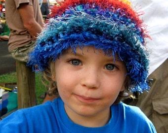 CUSTOM ORDER your own Freeform Rainbow Pixie Beanie Hat