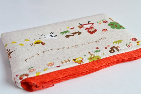 Last one! Little Red Riding Hood Cute Coin Purse