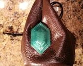 Leather Rupee Bag from Legend of Zelda