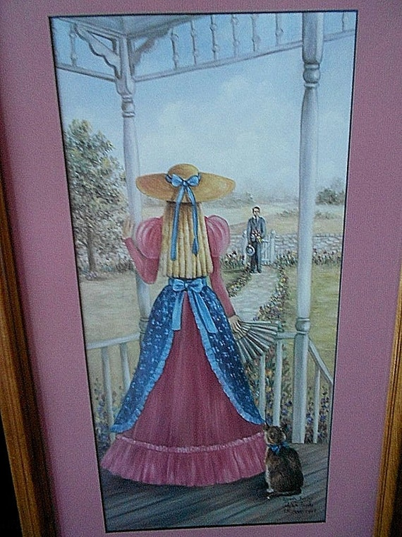 Glynda turley picture calling on callie southern belle girl for Glynda turley painting