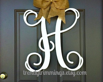 letters for front door monograms to trim your home for every season by 17357