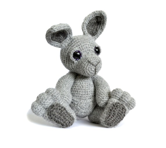 Purple Minion Amigurumi Pattern : Kangaroo Amigurumi Crochet Pattern PDF Instant Download Evie