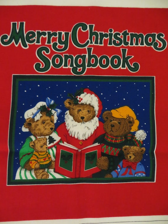 Christmas fabric craft panel to sew a soft children 39 s by for Children s material sewing