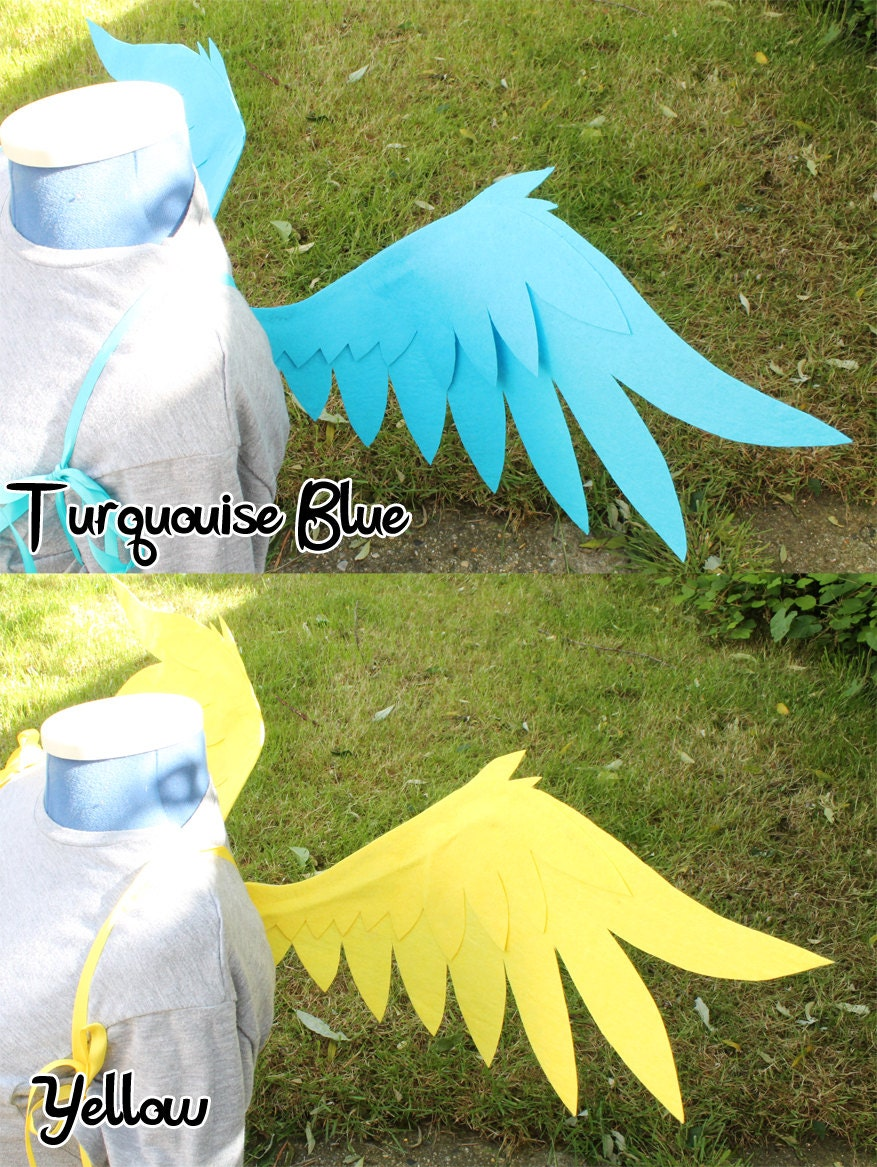 Pony Costume Ideas Pegasus Wings Flexible Posable Cosplay Costume Wings