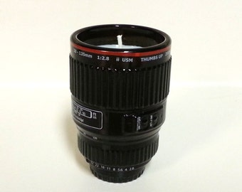 Camera Lens Soy Candle - CHOICE OF SCENT