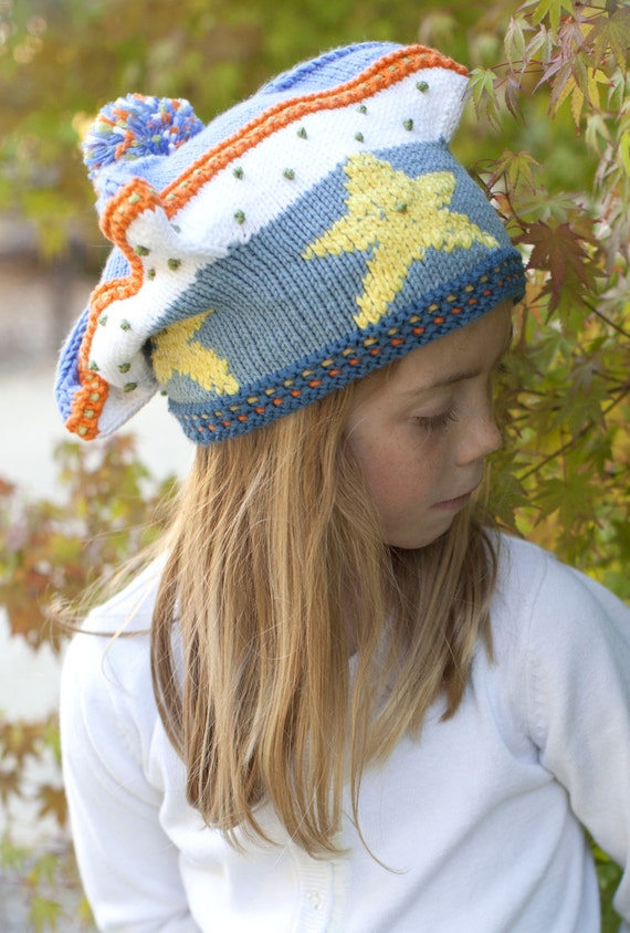 Knitted children hat forUpon a Starry Night Film Hat
