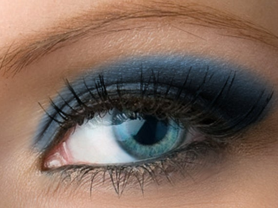 Matte Dark Blue Eyeshadow Nightshade Deep Navy