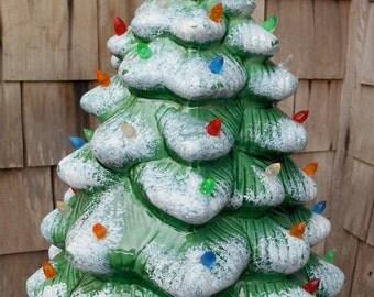 Popular Items For Ceramic Xmas Tree On Etsy