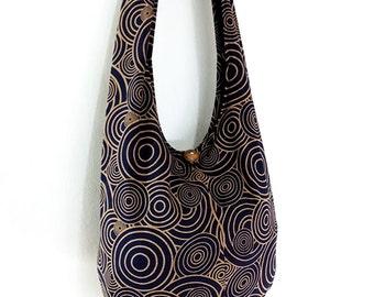 Women bag Handbags Cotton bag Hippie bag Hobo bag Boho bag Shoulder bag Sling bag Messenger bag Tote bag Crossbody bag Purse Navy blue