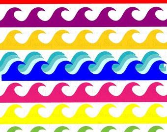 Unique waves clipart r... Navy Symbol Anchor