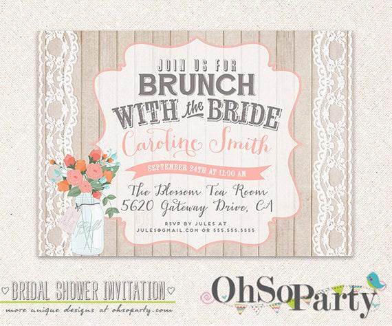 Wedding Brunch Invitations 034 - Wedding Brunch Invitations