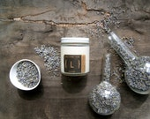 Lavender Soy Candle {L} in Glass Jar 5oz. with Wood Wick