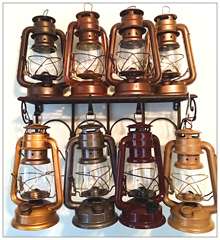 Rustic Centerpiece Medium Size Wedding Lantern By