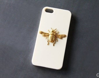 Bee Case Bee iPhone 6 Insect iPhone Beige iPhone 7 Plus iPhone 6s Bee Gold Animal Cell iPhone 6s Plus Case Honey Bee iPhone 6 Plus