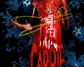 Stephen King's Carrie White Original Painting (Print) horror film prom movie