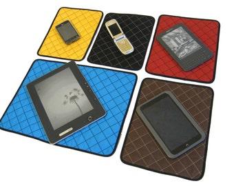 Mat for tablets, phones, cameras, e-books